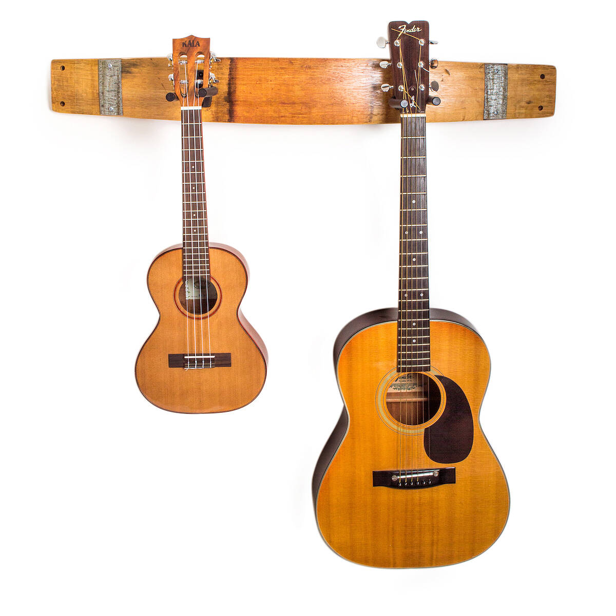 wine barrel guitar rack 2 thumbnail