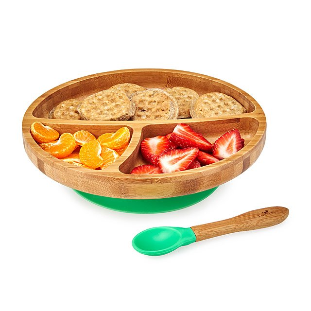 Bamboo Suction Toddler Plate Set