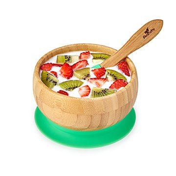 Bamboo Suction Baby Bowl Set