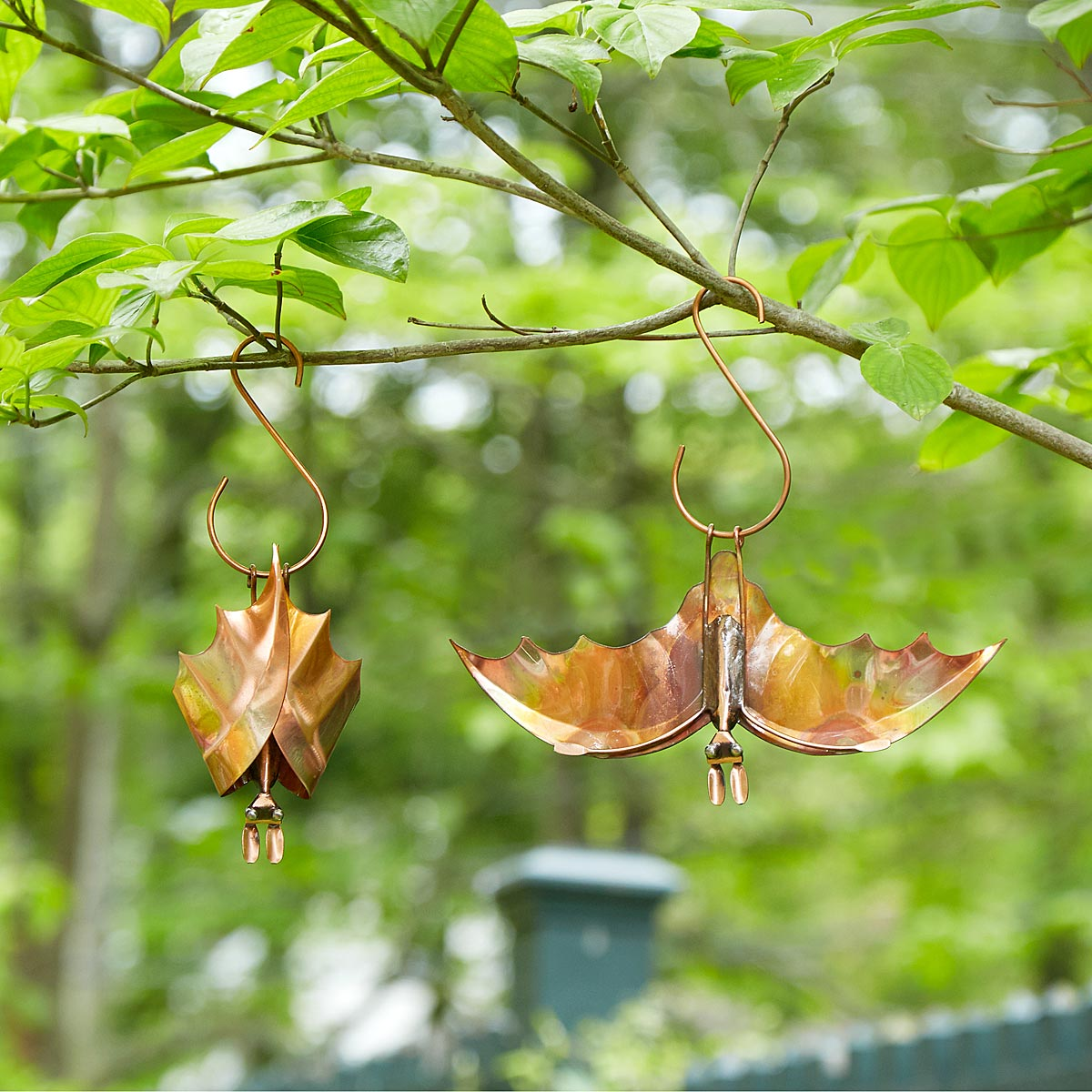 Backyard Bat Hanging Sculptures | garden decor, garden ... on Backyard Ornaments id=94758