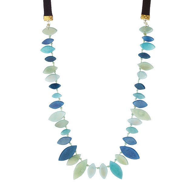 Lily Leaf Necklace