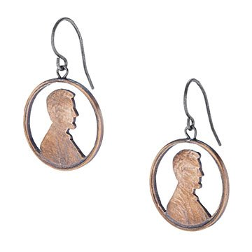 Abe Circled Earrings
