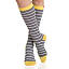 Summertime Stripes Nylon Compression Socks 2 thumbnail