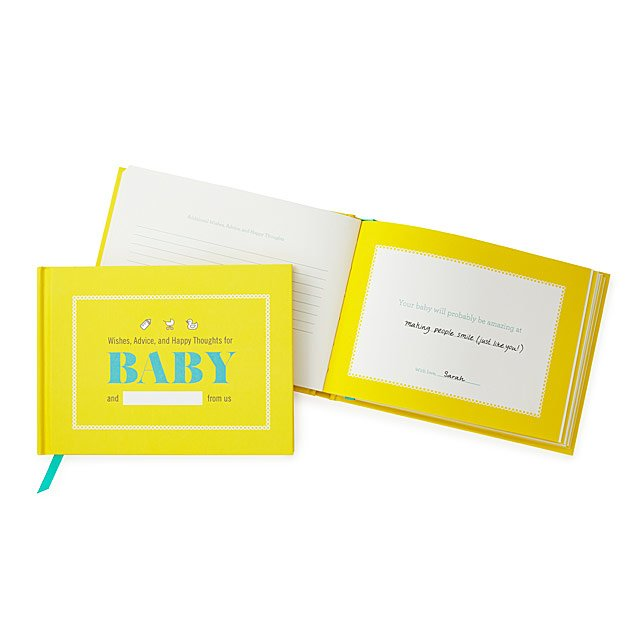 Best Wishes For Mom And Baby Fun Baby Shower Games Guest Book