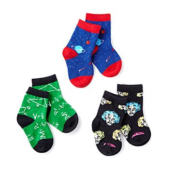 Unique nerd baby gifts creative geek baby toys uncommongoods relatively smart socks set of 3 negle Choice Image
