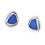 Sea Glass Stud Earrings 2 thumbnail