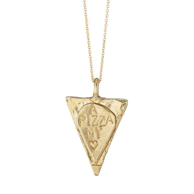 A Pizza My Heart Necklace