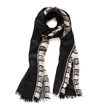 Black And White Pinata Scarf