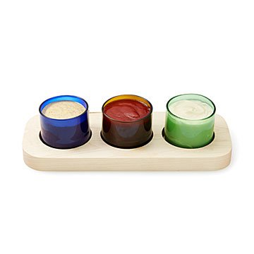 Trio Condiment Caddy