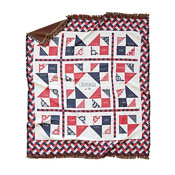Fabric of our Family Blanket - Americana