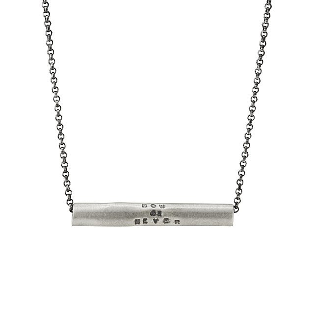 Now Or Never Necklace