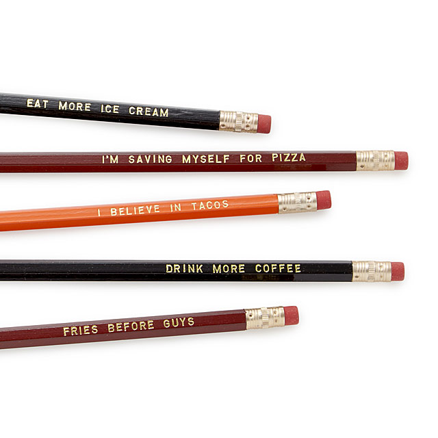 Foodie Pencil Set