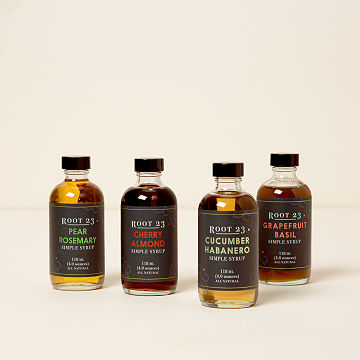 Flavored Simple Syrup Set