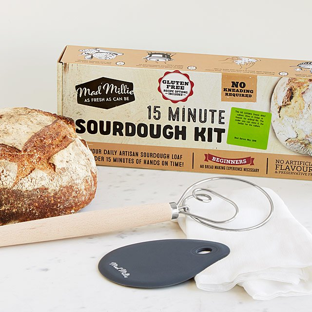Homemade Sourdough Bread Kit