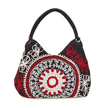 Mandala Hand Embroidered Shoulder Bag