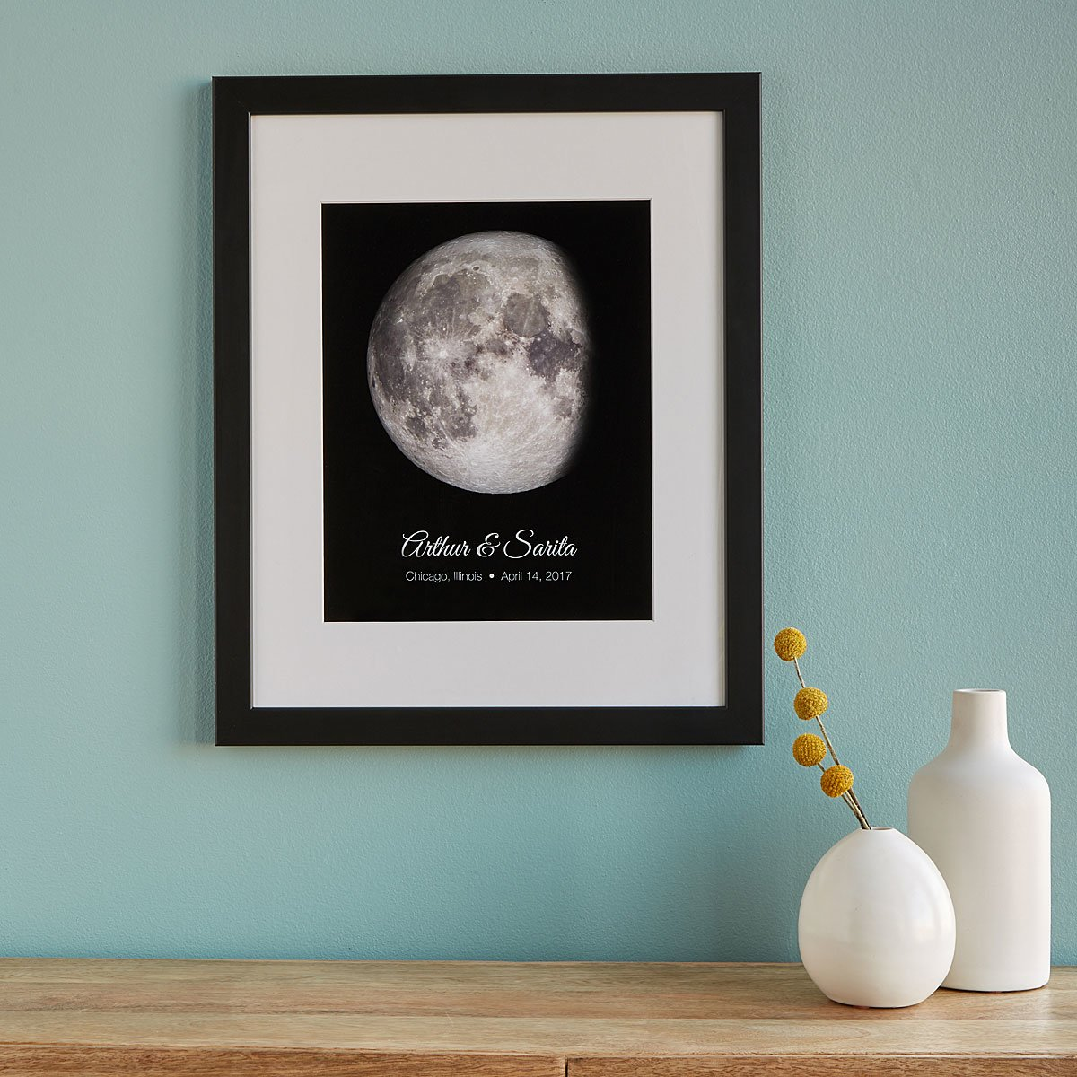 Personalized Lunar Phase of Love | Moon Art, Lunar Calendar ...
