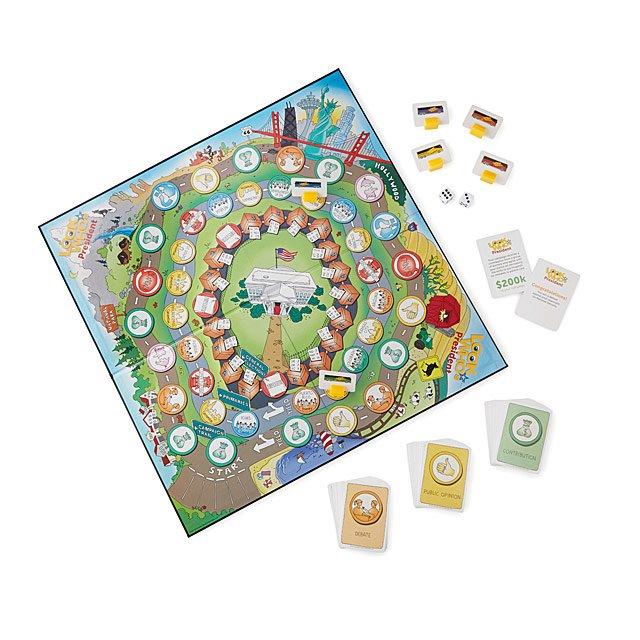 Look Who's President Election Board Game