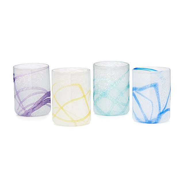 Glacier Glasses - Set of 4