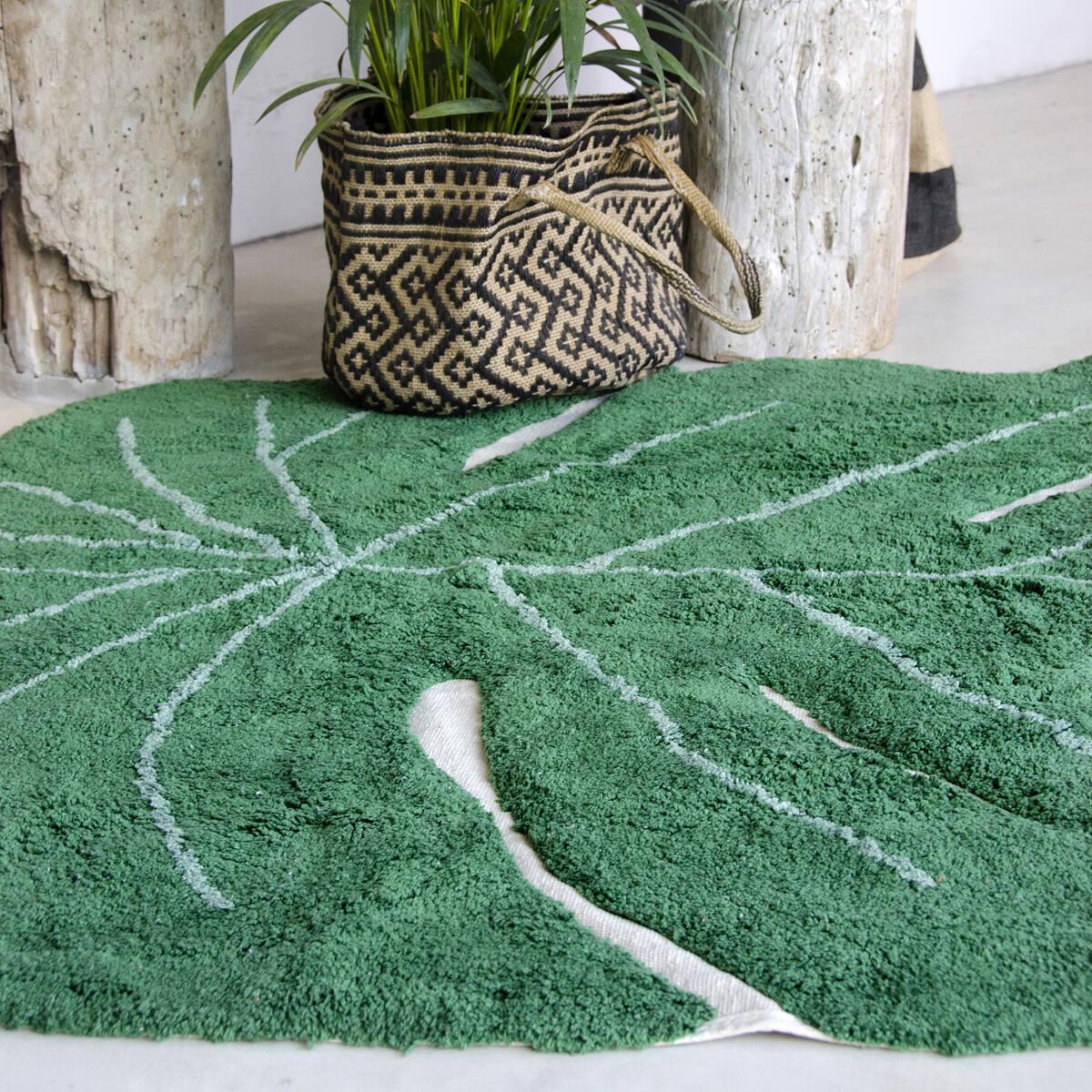 Green Leaf Rug Rugs Ideas