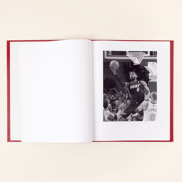 New York Times Custom Basketball Book