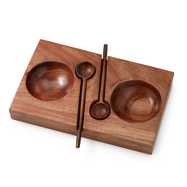 Olive and Nuts Serving Set