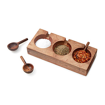 Spice Serving Set with Spoons