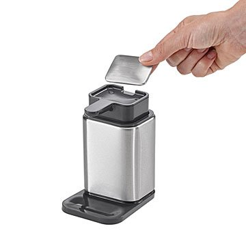 Odor Removing Stainless Steel Soap and Pump