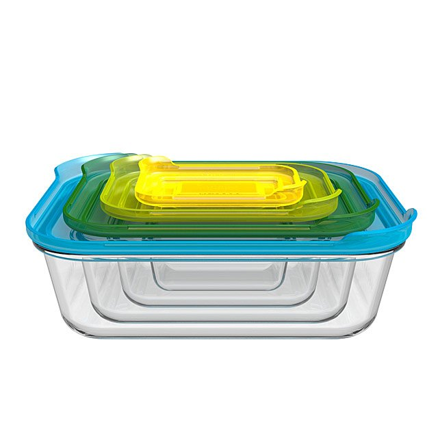 Nesting Glass Storage Containers Casserole Dish Baking Pan