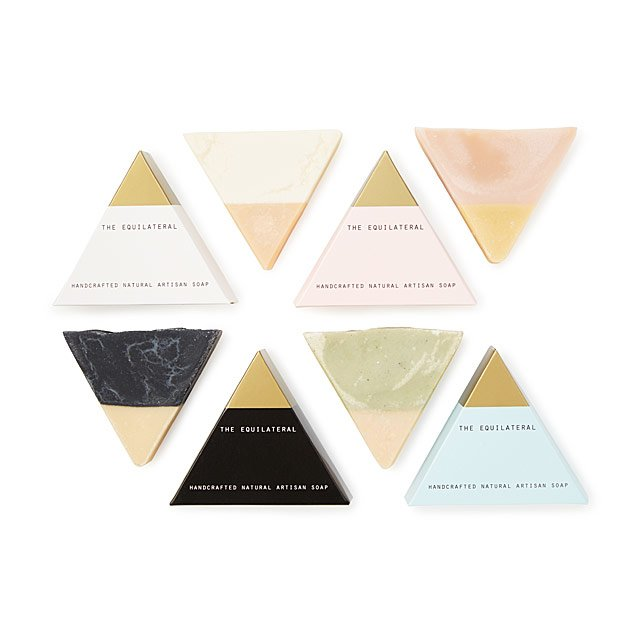 Equilateral Handmade Soap Set
