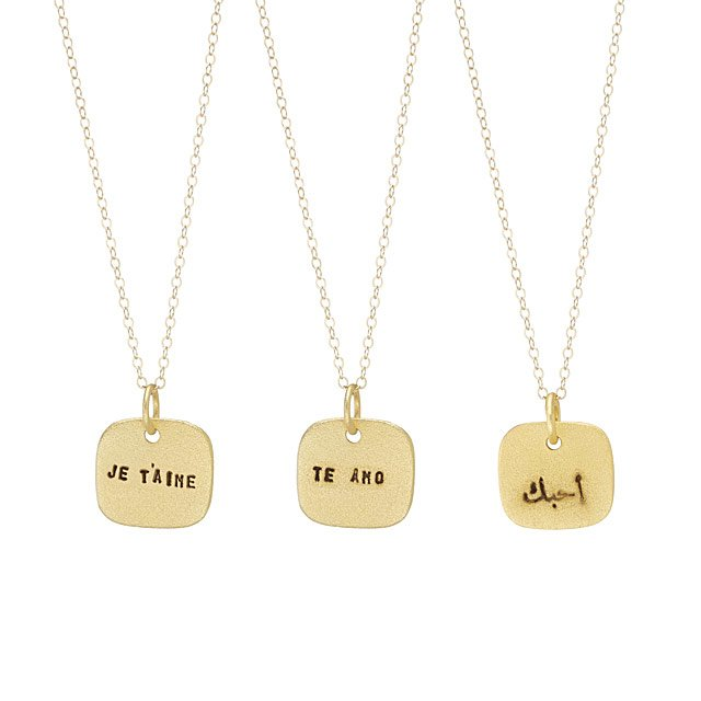 Language of Love Necklaces