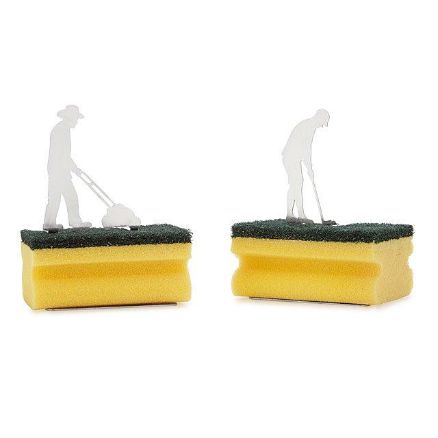 Silhouette Sponge Holder Fun Kitchen Gifts Kitchen