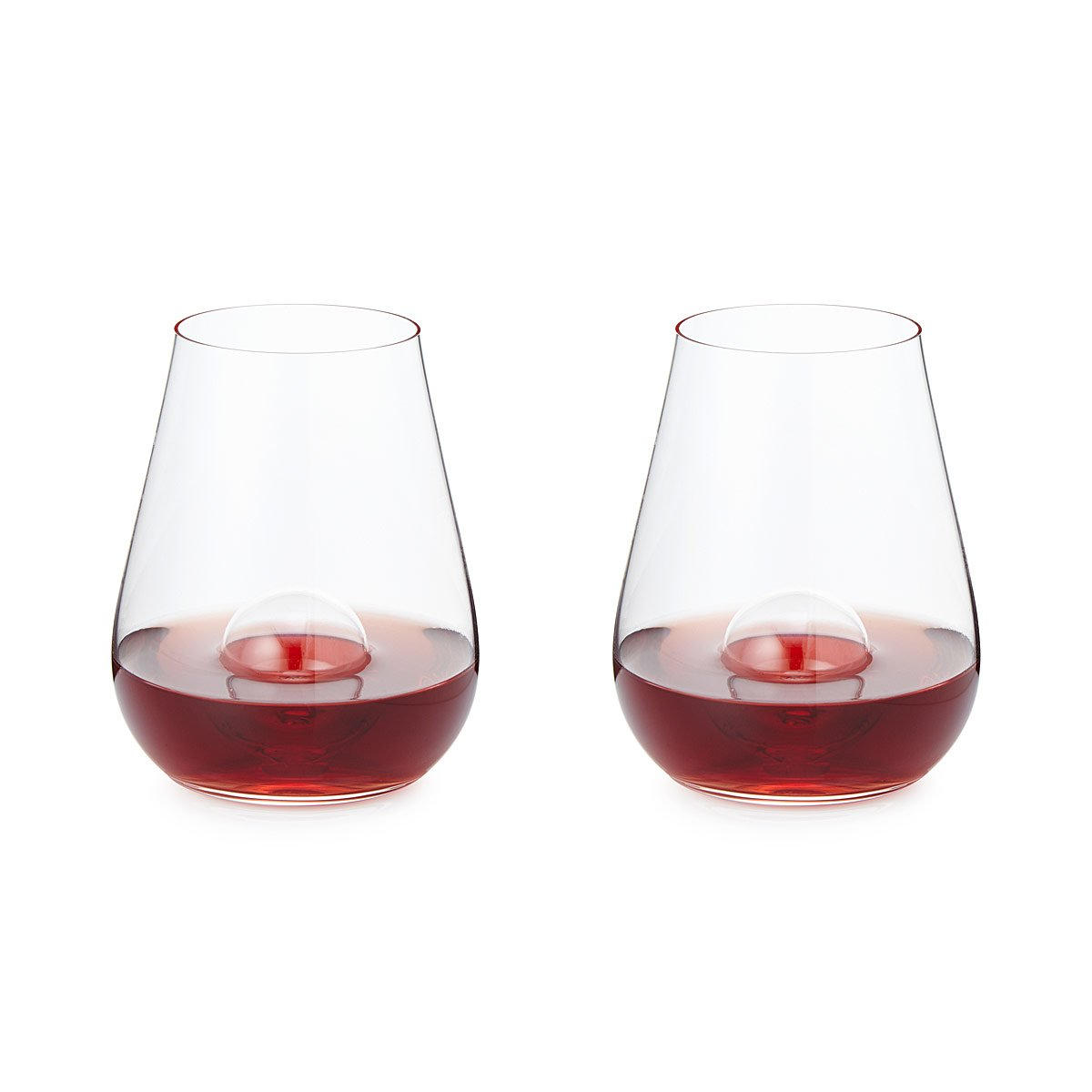 7 Deadly Sins Wine Glasses Crystal Aerating Stemless Wine Glass Set Glass Blowing Blown