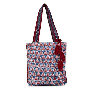 Prism Block Printed Tote Bag