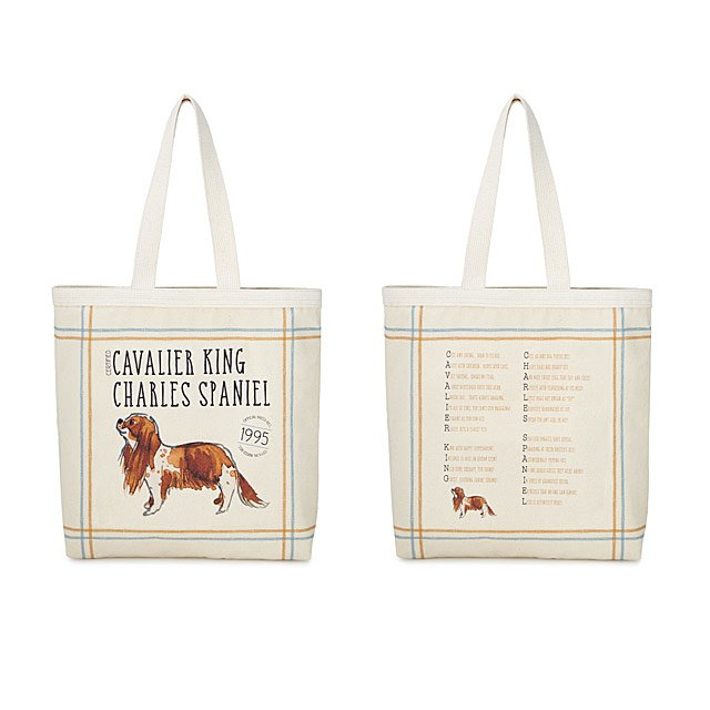 dd6f409c21b Pedigree Poem Tote Bag | Dog Lover Gifts | UncommonGoods
