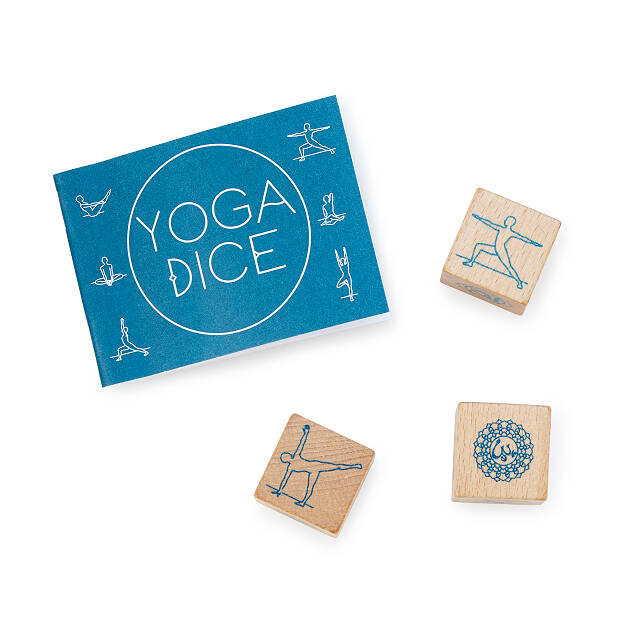 how to use yoga dice