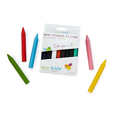 Eco Crayon Sticks - Set of 20
