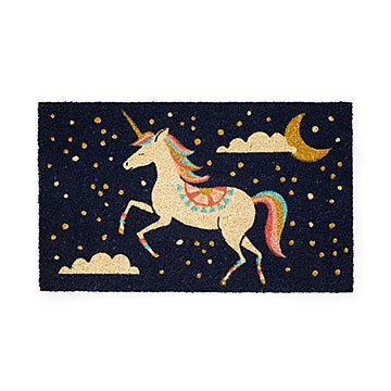 Pearl the Unicorn Doormat