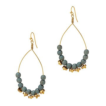 Blue Raindrop Earrings