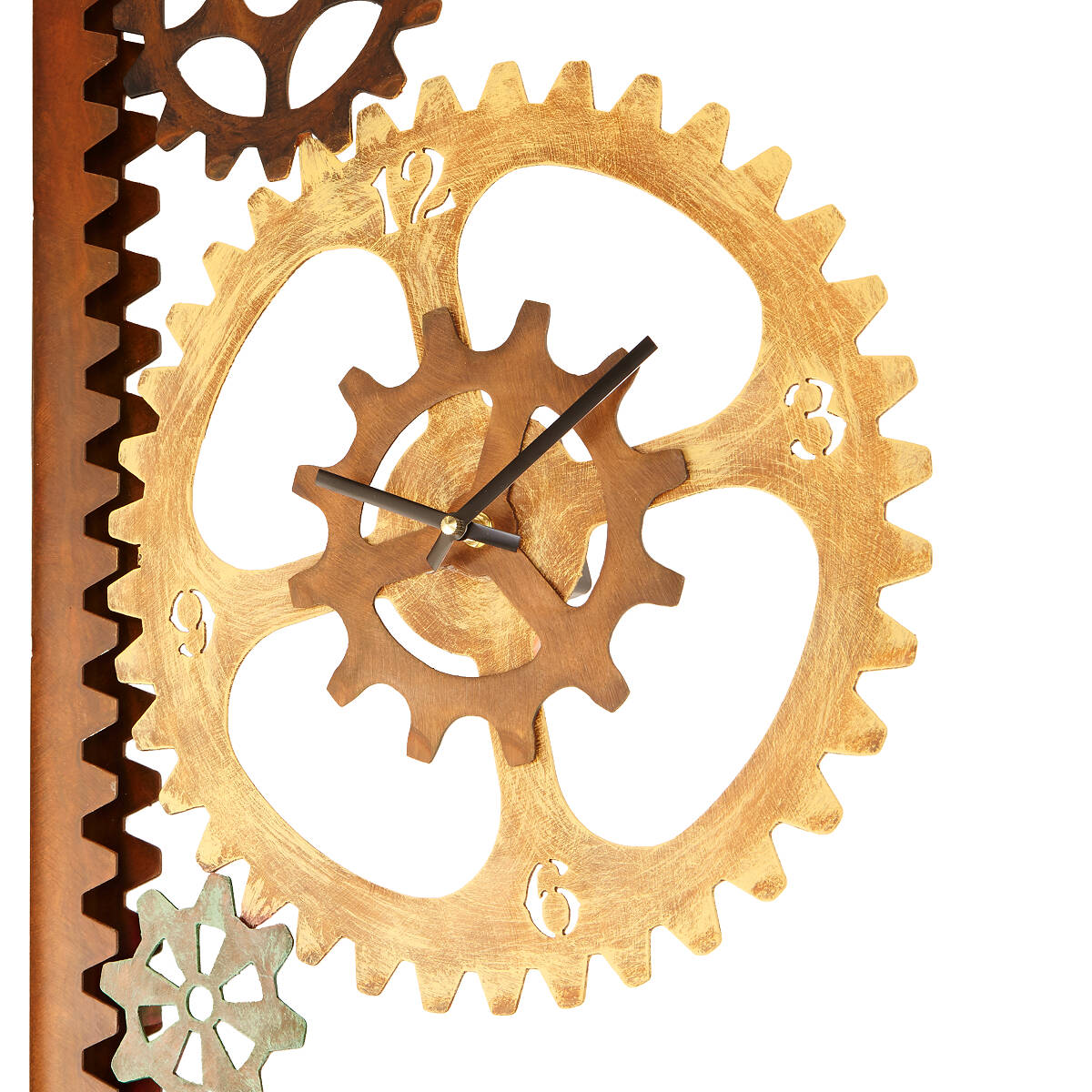 garden gears outdoor clock u0026 thermometer 2 thumbnail