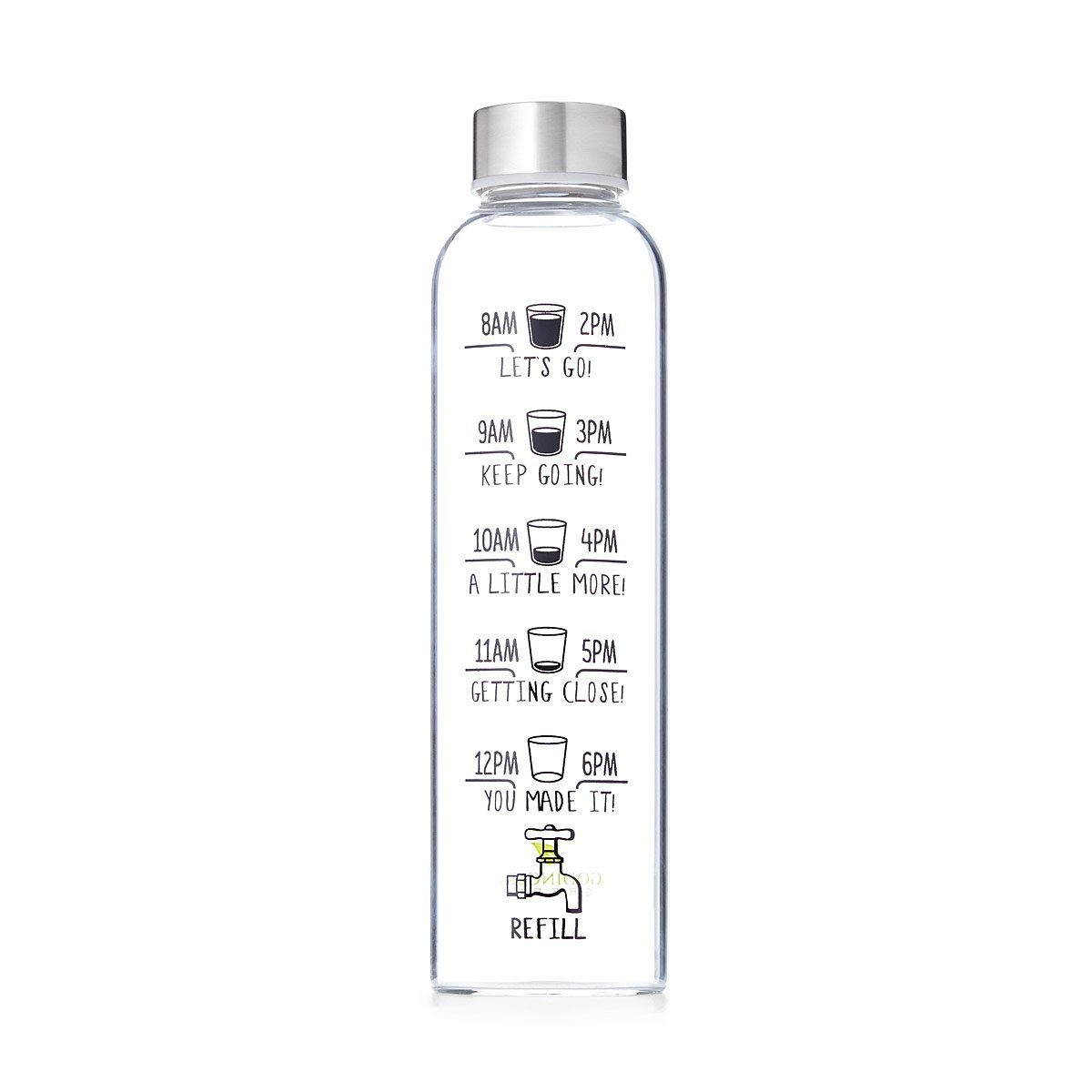 5387657ec4 Drink More Water Bottle | Motivational Workout | UncommonGoods