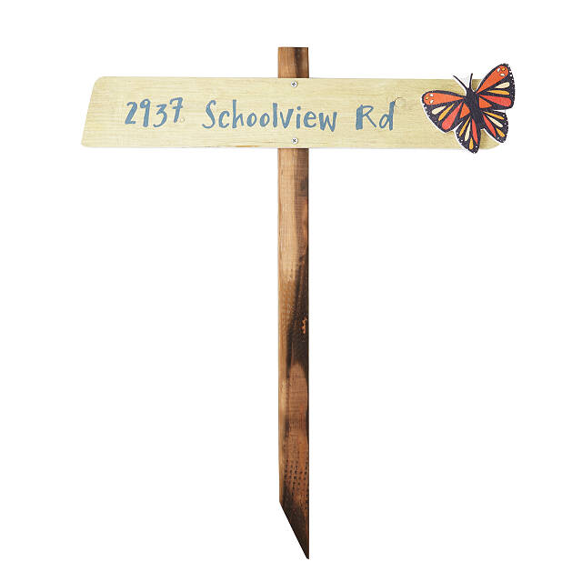 Personalized House Marker Stake
