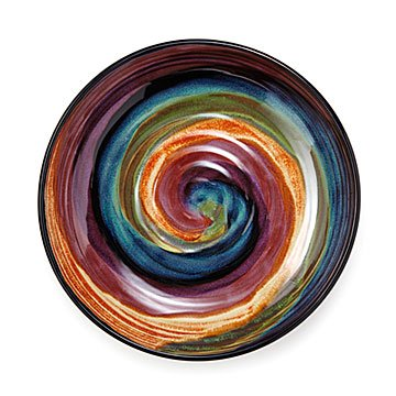 Spectrum Swirl Serving Dish