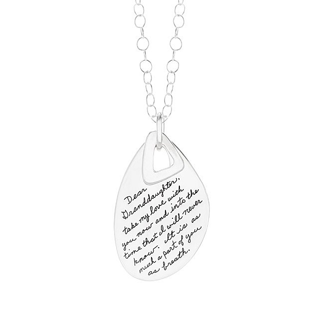 Dear Granddaughter Necklace