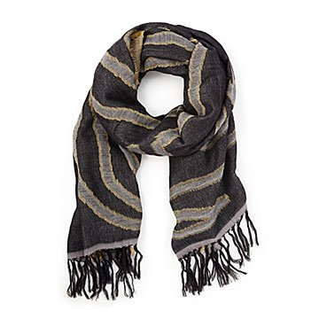 Fall Fringe Scarf
