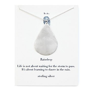 Dancing in The Rain Necklace