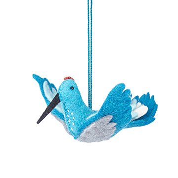 Felt Hummingbird Ornament