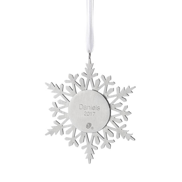 Custom Sand Snowflake Ornament