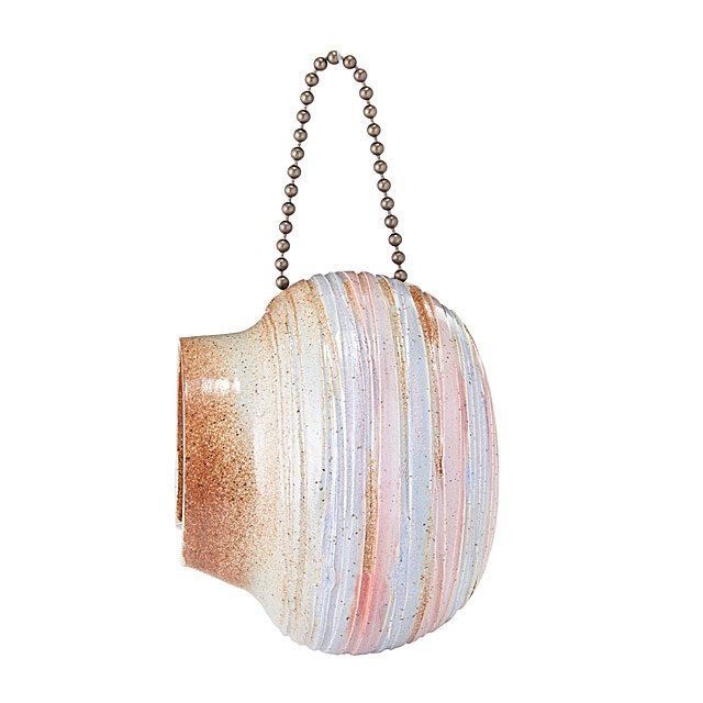 Pastel Skies Stoneware Bird Feeder