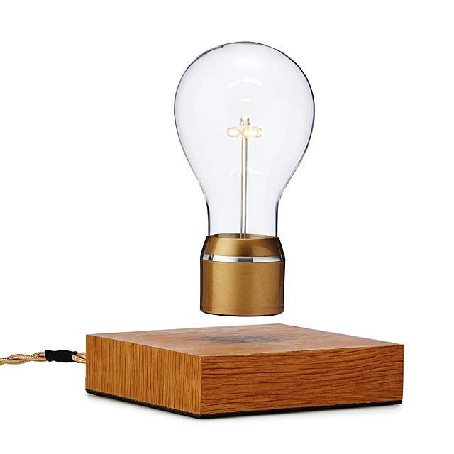 The Levitating Lightbulb