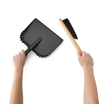 Dressed-Up Dustpan